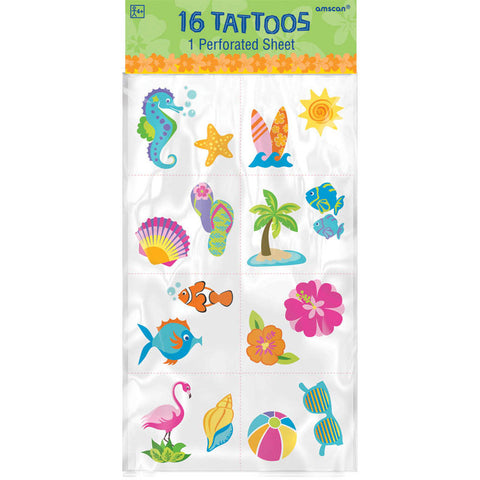 Summer Tattoos 16pc