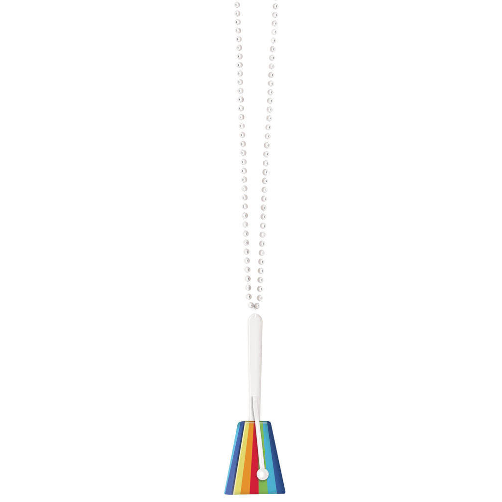 Rainbow Clacker Necklace