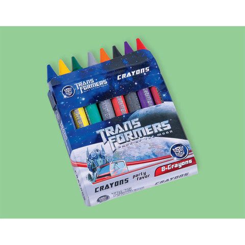Transformers 3 Crayons