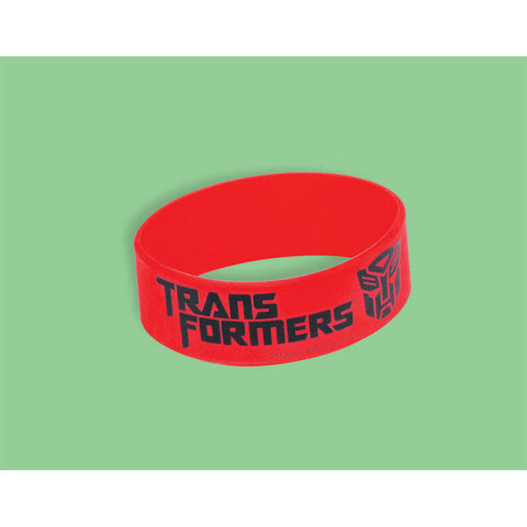 Trasnformers 3 Silicone Band