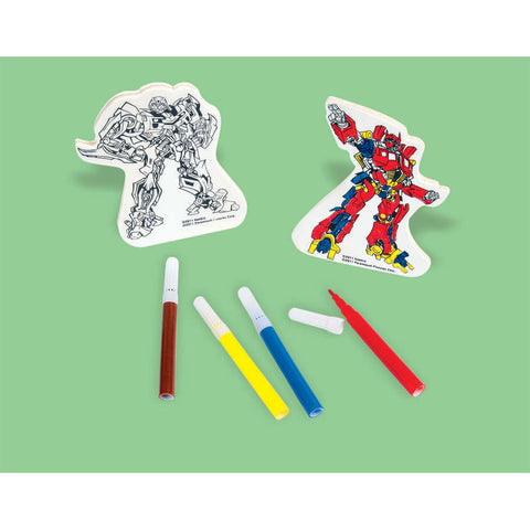 Transformers Wood Decorating Kit (6pc)