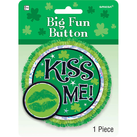 Big Fun Kiss Me Button