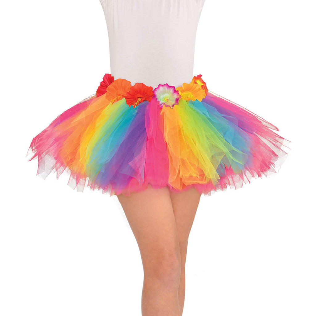 Rainbow Hula Tutu Girls Standard