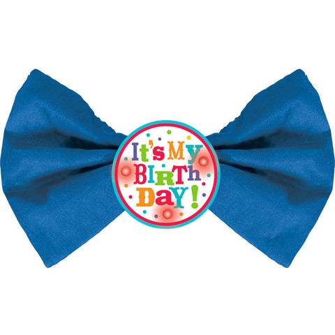 Birthday Fever Light Up Bow Tie