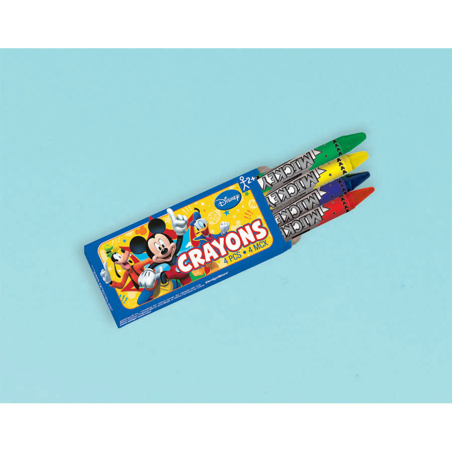 Mickey Fun and Friends Mini Crayons