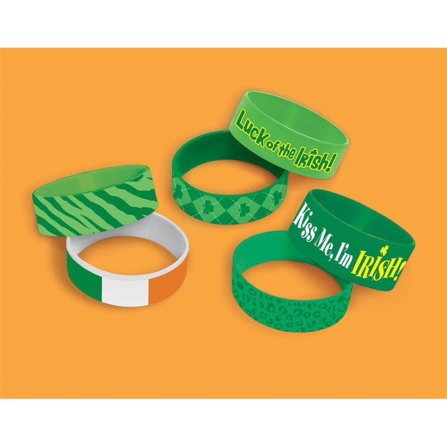 St. Patrick's Day Cuff Bands