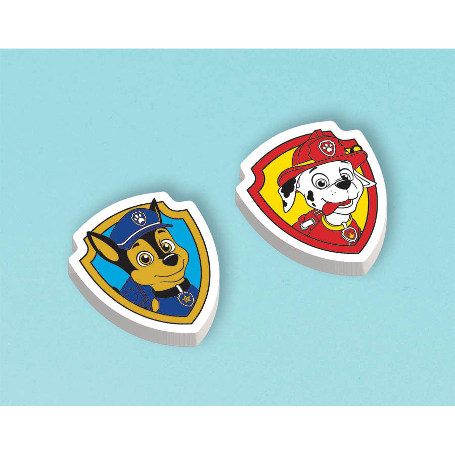 Paw Patrol Packaged Erasers (12ct)