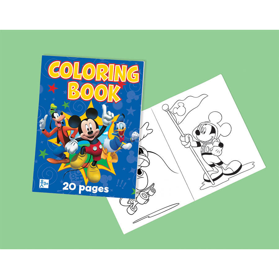 Mickey Fun and Friends Coloring Book