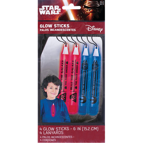 Star Wars Glow Sticks (4ct)
