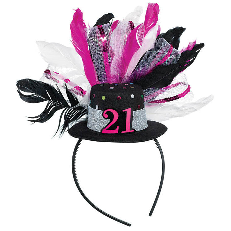 21st Brilliant Birthday Fascinator