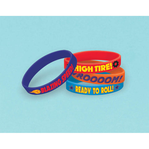Blaze and The Monster Machines Rubber Bracelets (4ct)