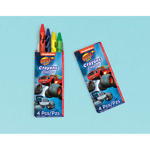 Blaze and The Monster Machines Crayon Boxes (12 ct)