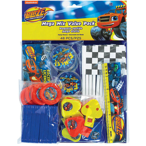 Blaze and The Monster Machines Favor Packs (48 ct)