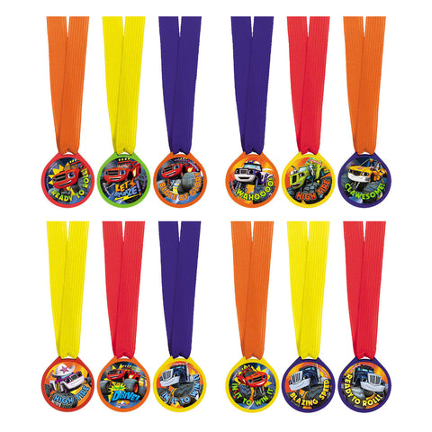 Blaze and The Monster Machines Award Medals (12ct)
