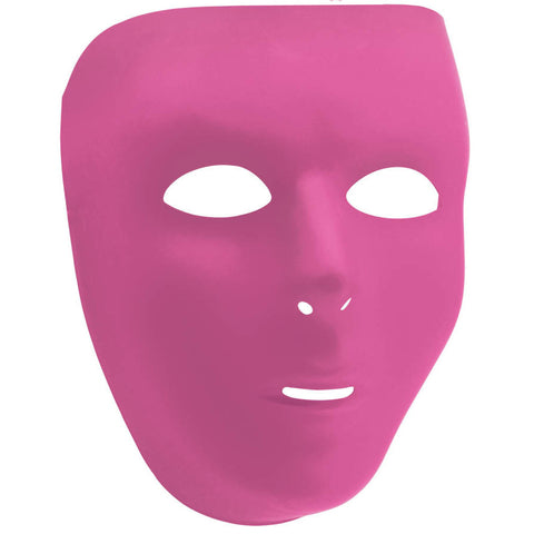Pink Full Face Mask