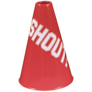 Red Shout Megaphone