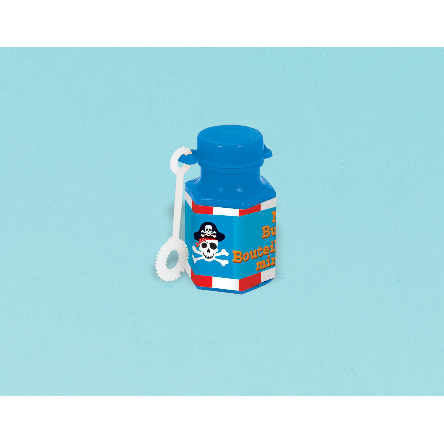 Pirate's Treasure Mini Bubble Bottle