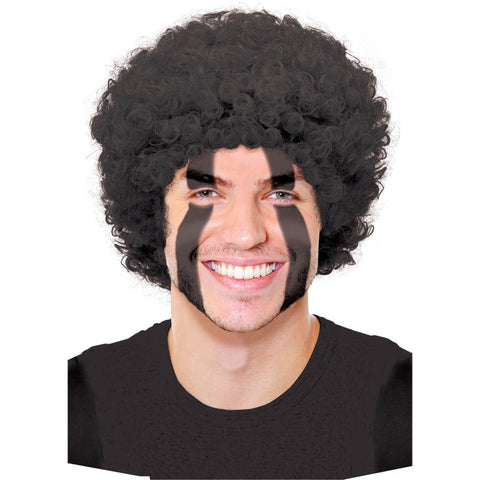 Black Afro Curly Wig