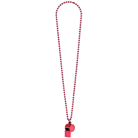 Red Whistle Necklace