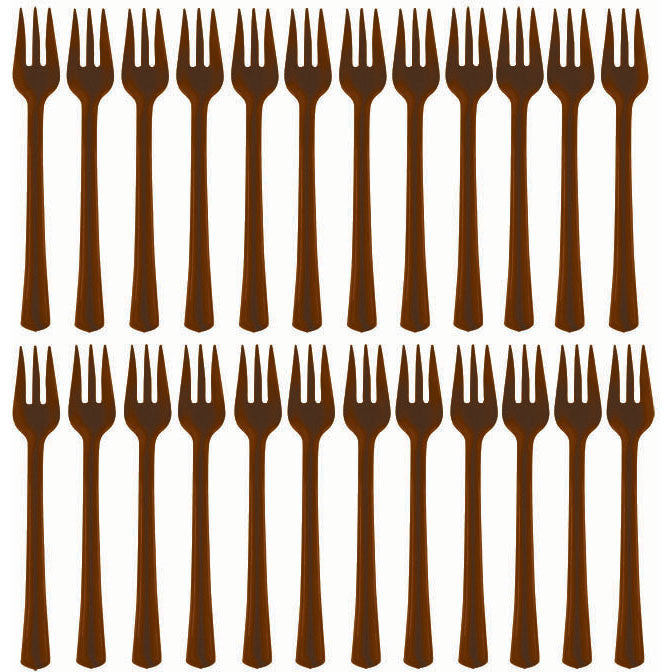 Chocolate Cocktail Forks