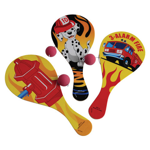 Firefighter Paddle Balls