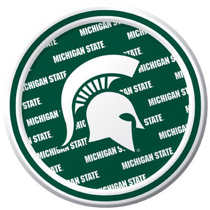 Michigan State University Dessert Plates (8ct)