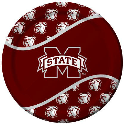 Mississippi State Dinner Plates (8ct)