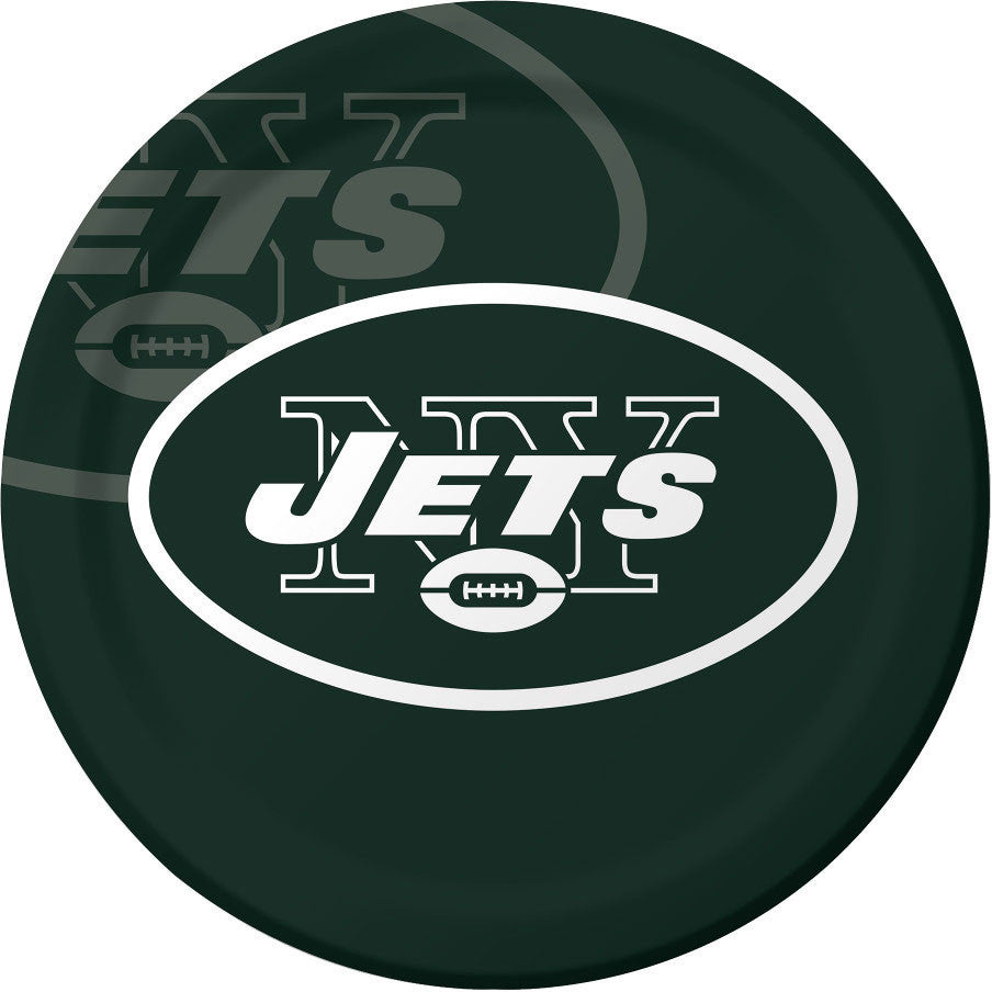 New York Jets Dinner Plates (8ct)