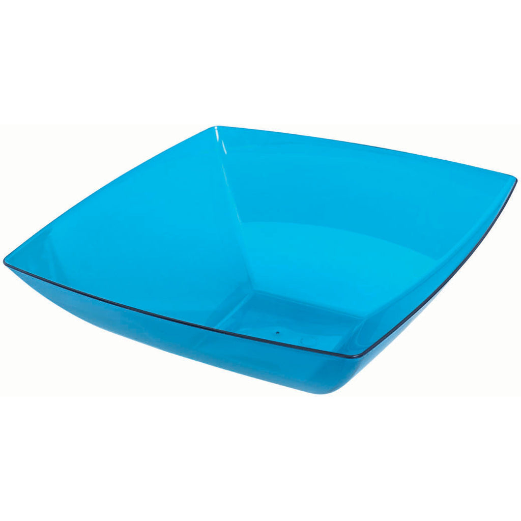 Large Square Bowl - Blue, 128 oz.