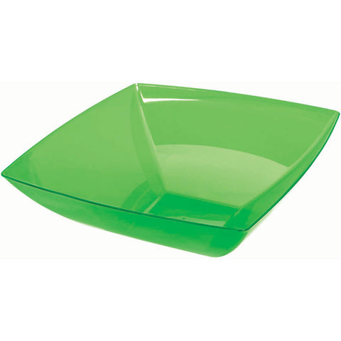 Small Square Bowl - Green, 32 oz.