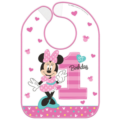 Minnie Fun To Be One Bib