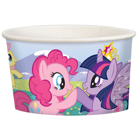 My Little Pony Friendship 9.5oz Paper Treat Cups (8ct)