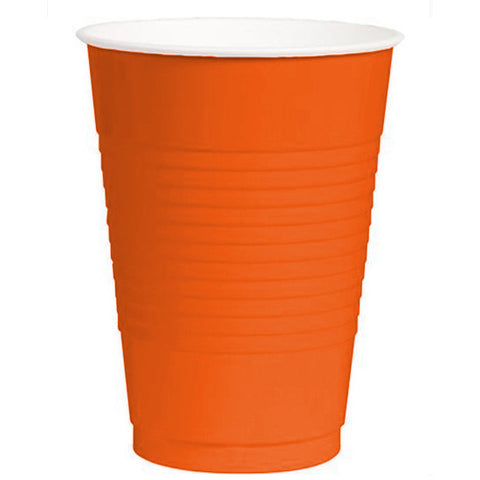 Orange Peel 16oz Plastic Cups (50ct)