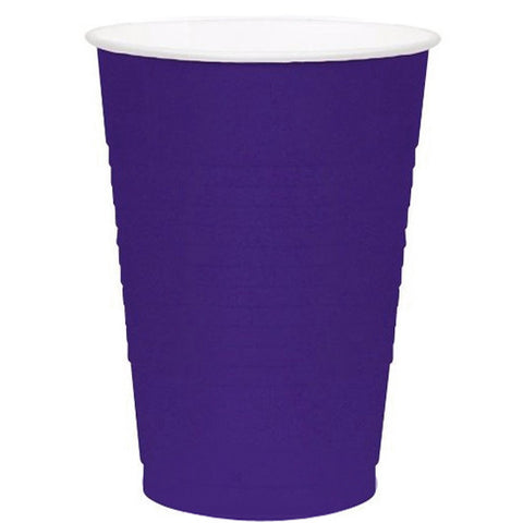New Purple 16oz Plastic Cups (50ct)