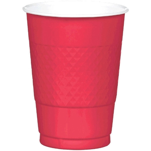Apple Red Big Party Pack 16 Oz Plasitc Cups