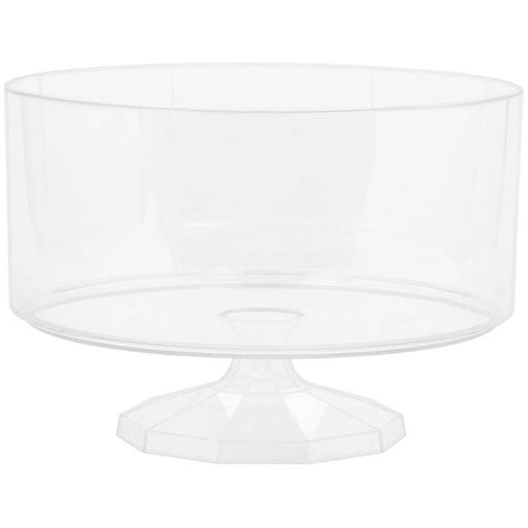 Clear Small Plastic Trifle Dish