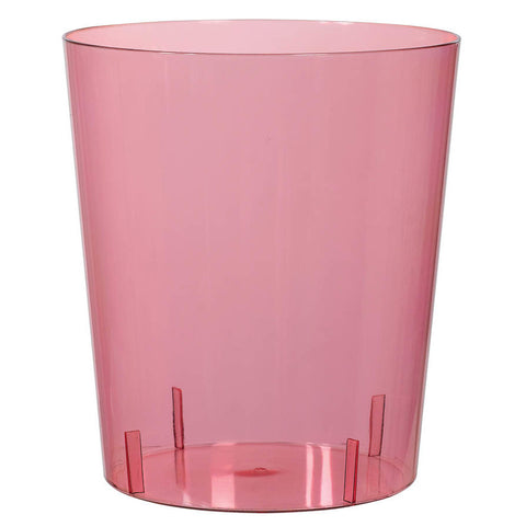New Pink Medium Plastic Cylinder Container