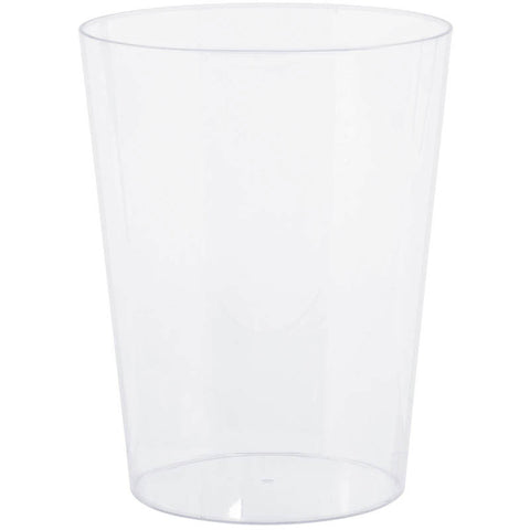 Clear Medium Plastic Cylinder