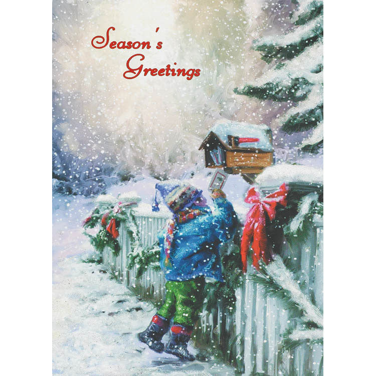 Special Winter Delivery Greeting Cards (18ct)