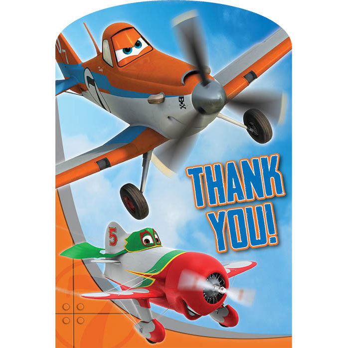 Disney's Planes 2 Thank You Notes