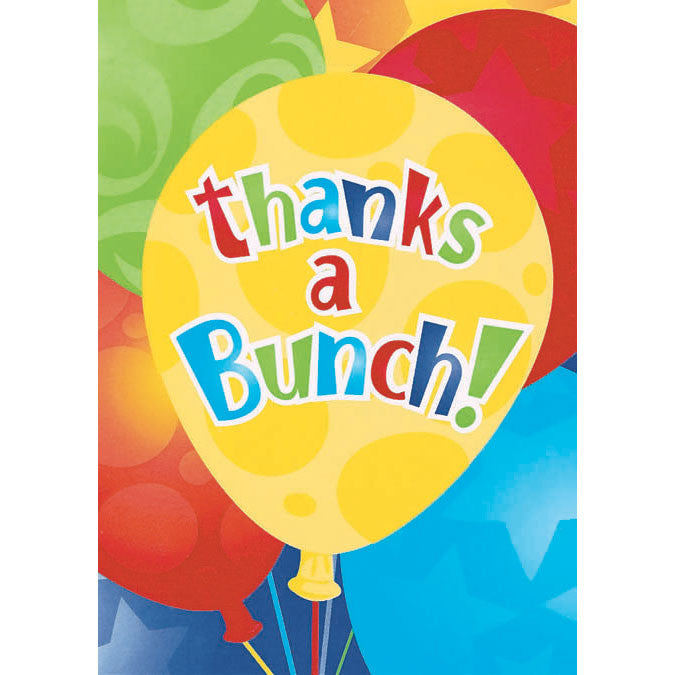 Balloon Thank You Notes