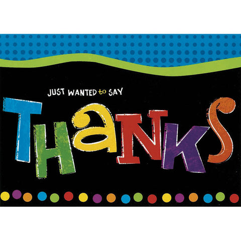 Bright Colors Thank You Notes