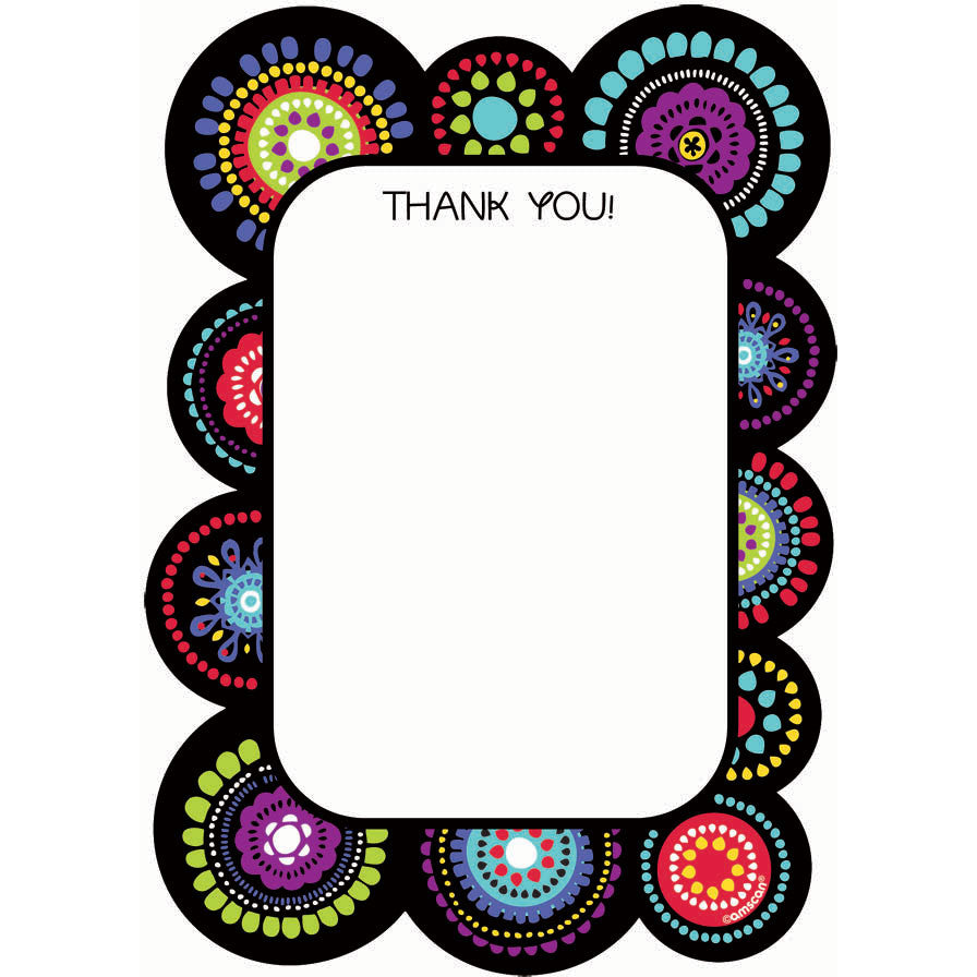 Graphic Fun Thank You Notes
