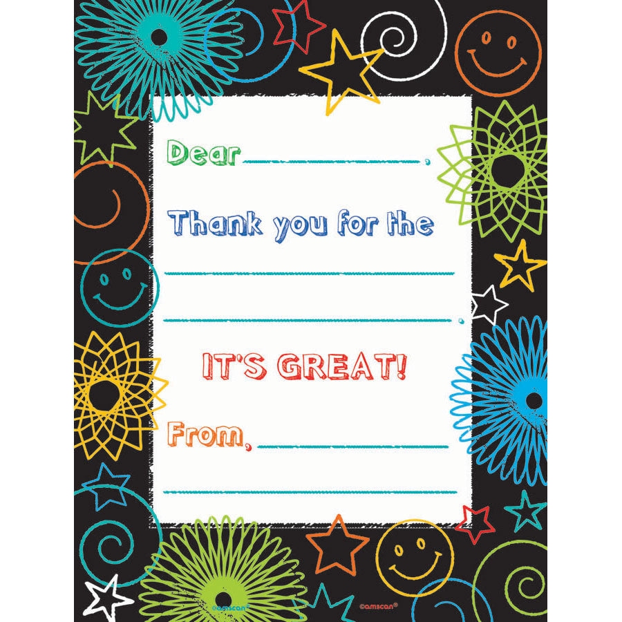 Doodle Days Thank You Notes