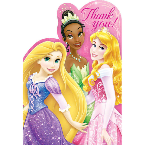 Princess Sparkle Thank You Notes