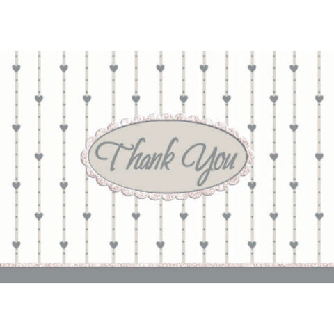 Formal Affair Glitter Thank You Notes