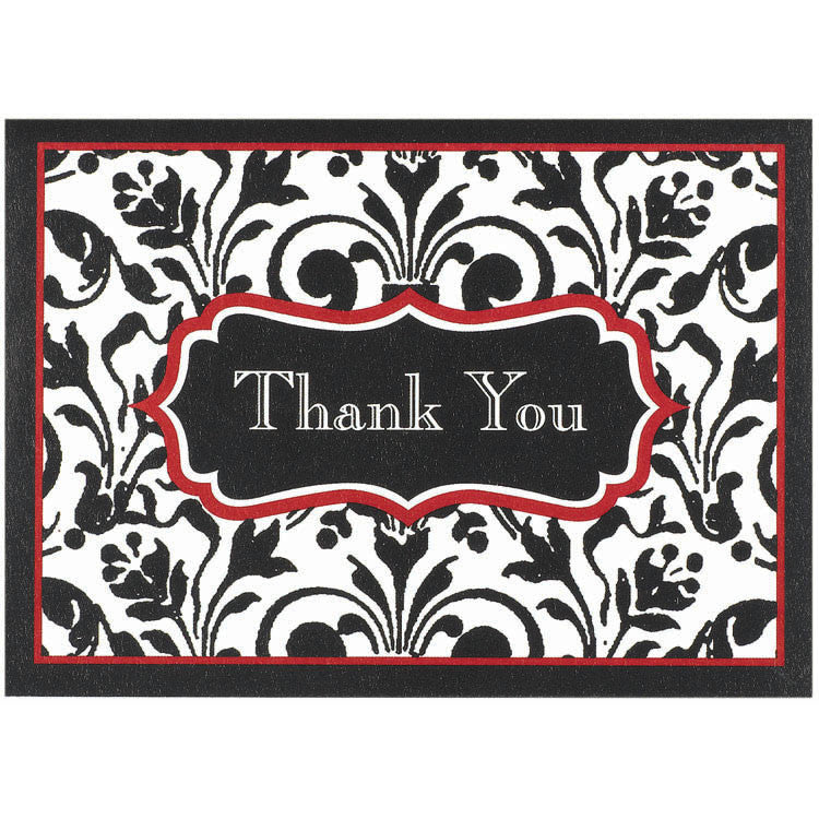 Stylish Statement Thank You Notes