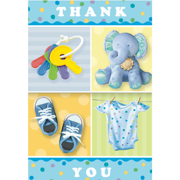 Teeny Tiny Boy Thank you cards