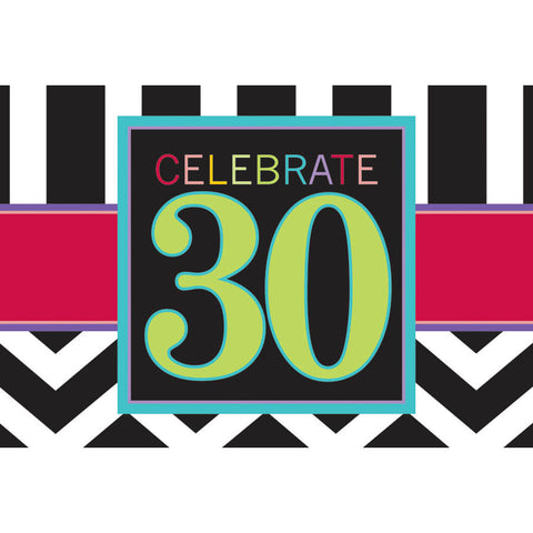 30th birthday invites and thank you notes us novelty 30 celebrate invitations filmwisefo