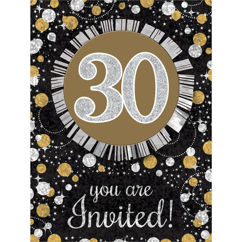 30th birthday invites and thank you notes us novelty